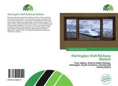 Harlington Halt Railway Station kitap kapağı