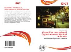 Bookcover of Council for International Organizations of Medical Sciences