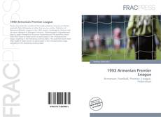 Bookcover of 1993 Armenian Premier League