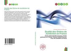 Buchcover von Dualité des Ordres de Juridiction en France