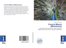 Francis Mason (Missionary) kitap kapağı