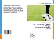 Bookcover of 1995 Armenian Premier League