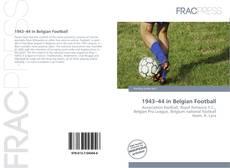 Copertina di 1943–44 in Belgian Football