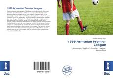 Bookcover of 1999 Armenian Premier League