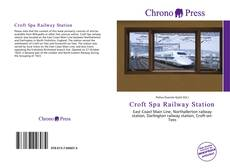 Buchcover von Croft Spa Railway Station