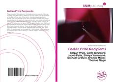 Bookcover of Balzan Prize Recipients