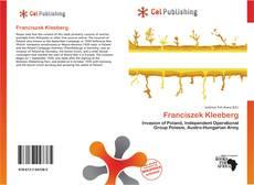 Capa do livro de Franciszek Kleeberg