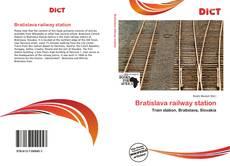 Bookcover of Bratislava railway station
