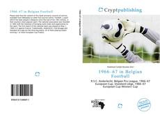 Bookcover of 1966–67 in Belgian Football