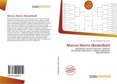 Bookcover of Marcus Morris (Basketball)