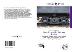 Bookcover of Avon Riverside Railway Station