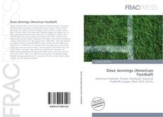 Bookcover of Dave Jennings (American Football)