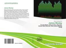 Copertina di James Wesley