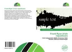 Обложка Frank Ryan (Irish republican)
