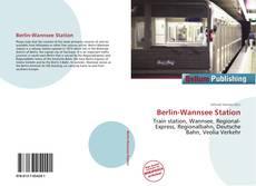 Portada del libro de Berlin-Wannsee Station