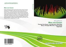 Bookcover of Max von Essen