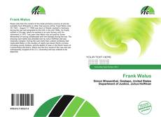 Copertina di Frank Walus