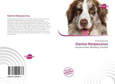Bookcover of Canine Herpesvirus