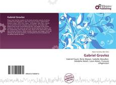 Bookcover of Gabriel Grovlez