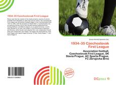 Обложка 1934–35 Czechoslovak First League