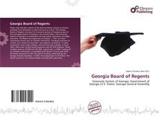 Bookcover of Georgia Board of Regents