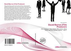 David Barron (Film Producer)的封面