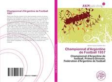 Buchcover von Championnat d'Argentine de Football 1957