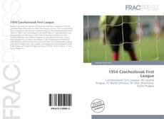 Обложка 1954 Czechoslovak First League