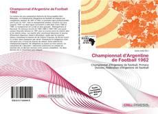 Buchcover von Championnat d'Argentine de Football 1962