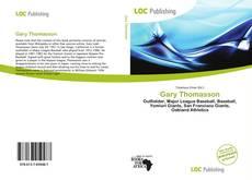 Capa do livro de Gary Thomasson
