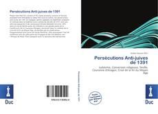 Portada del libro de Persécutions Anti-juives de 1391