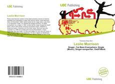 Leslie Morrison kitap kapağı