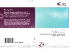 Bookcover of Maria Justeau