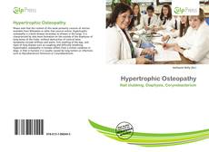 Bookcover of Hypertrophic Osteopathy