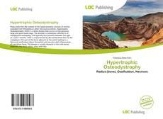 Capa do livro de Hypertrophic Osteodystrophy