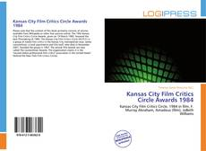 Обложка Kansas City Film Critics Circle Awards 1984