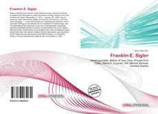 Bookcover of Franklin E. Sigler