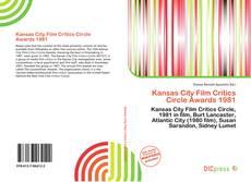 Обложка Kansas City Film Critics Circle Awards 1981