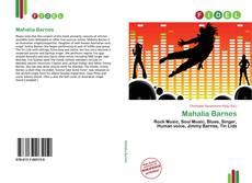 Capa do livro de Mahalia Barnes