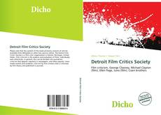Обложка Detroit Film Critics Society