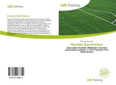 Bookcover of Kerstin Garefrekes