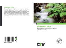 Alexander Falls kitap kapağı
