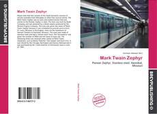 Portada del libro de Mark Twain Zephyr
