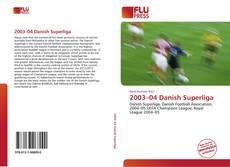 2003–04 Danish Superliga的封面