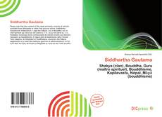 Bookcover of Siddhartha Gautama