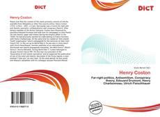 Buchcover von Henry Coston