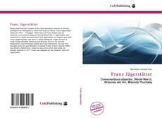 Buchcover von Franz Jägerstätter