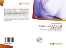 Couverture de Franz Joseph II, Prince of Liechtenstein
