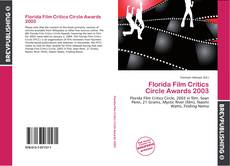 Обложка Florida Film Critics Circle Awards 2003