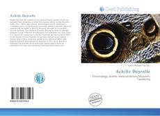 Bookcover of Achille Deyrolle